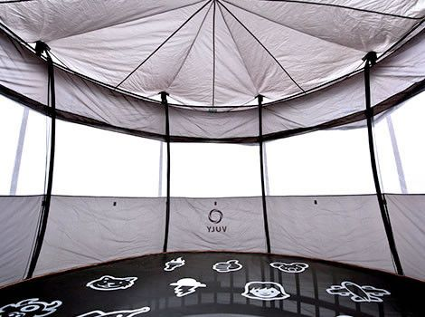 1000 Ideas About Trampoline Tent On Pinterest