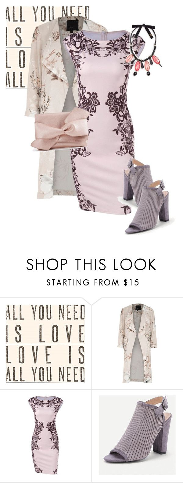 """""""coat"""" by masayuki4499 ❤ liked on Polyvore featuring Sugarboo Designs, River Island and MANGO"""