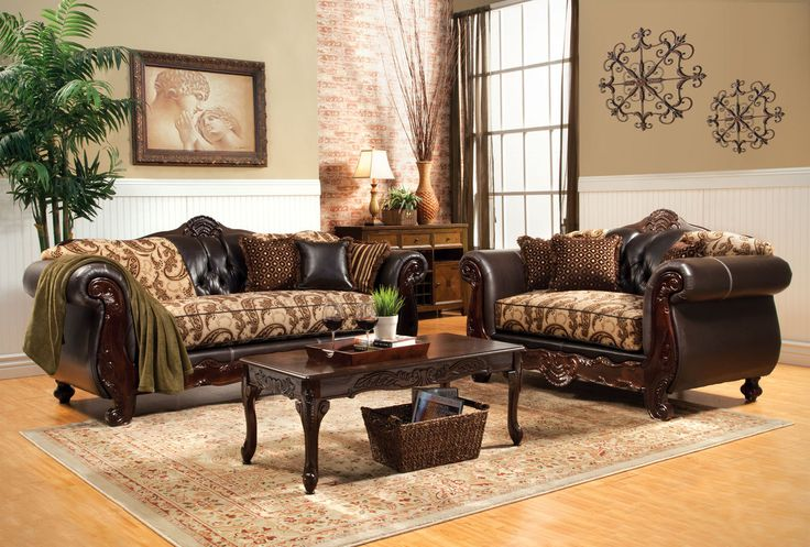 BONAPARTEBONAPARTE | SM6108TRADITIONAL YET UNEXPECTED or a traditional set, this sofa and love seat pair has a few urprises.  Sofa & Loveseat Set Sale For $1040