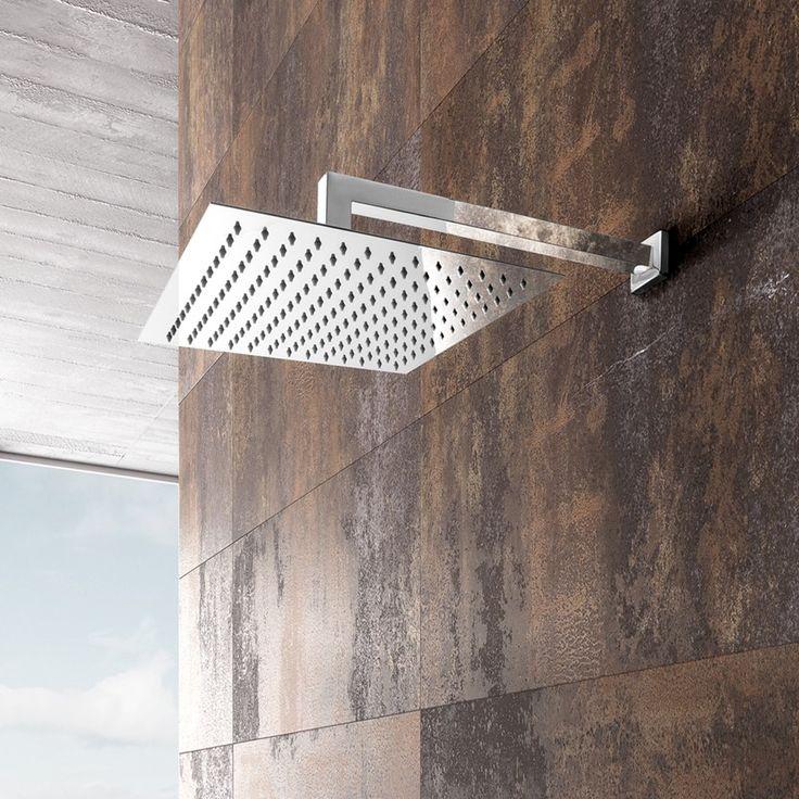 Promo soffione doccia square 20x20 + braccio #tecnoceramiche #promozioni #soffionedoccia #doccia #arredobagno #bagno #ws