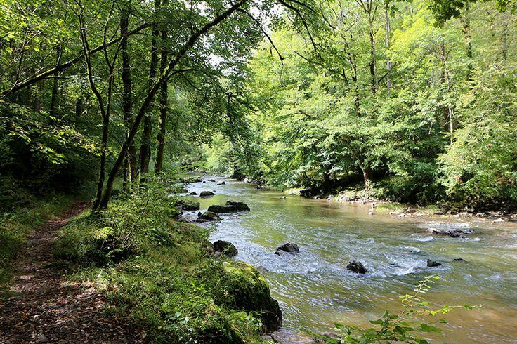 En longeant la rivière Aveyron