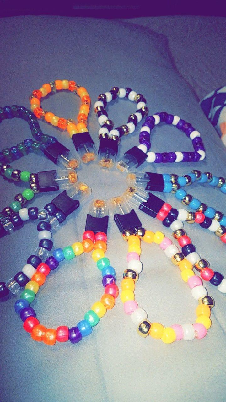 Juul kandi | My Pins | Kandi bracelets, Rave outfits, Beaded