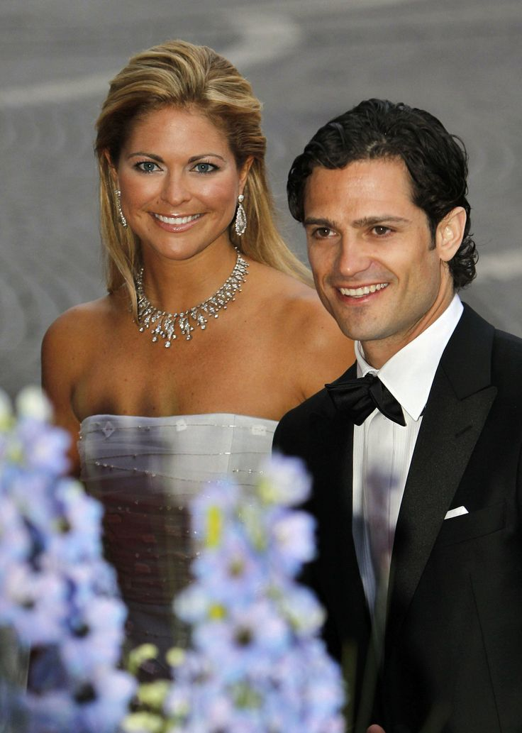 Swedish Princess Madeleine and her brother Prince Carl Philip in June 2010