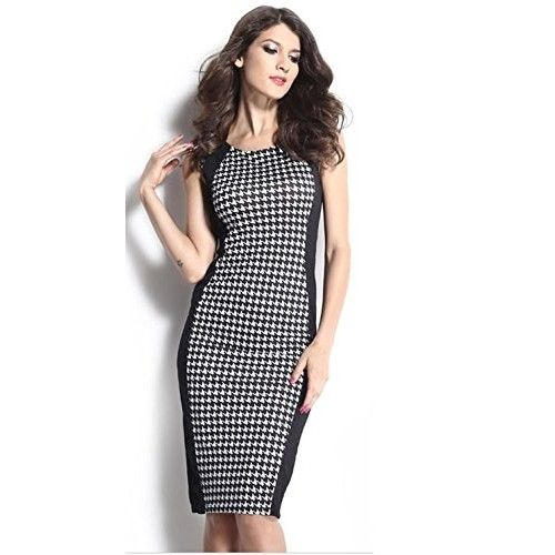 Chimpaaanzee #Women's #Bodycon #Dress (D0001_Black_Small)
