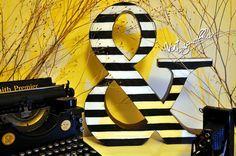 Las letras decorativas gustan a todo el mundo,las podemos encontrar de logotipos o decoración en tiendas y restaurantes, también se pueden ver en todo tipo de r