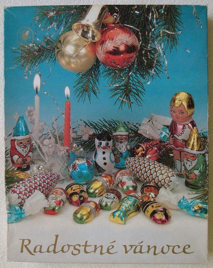 Klasické chutné vánoční čokoládové kolekce