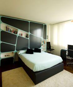 DORMITORIOS PARA JOVENES VARONES YOUNG MAN'S BEDROOM : Dormitorios: Fotos de dormitorios Imágenes de habitaciones y recámaras, Diseño y Decoración