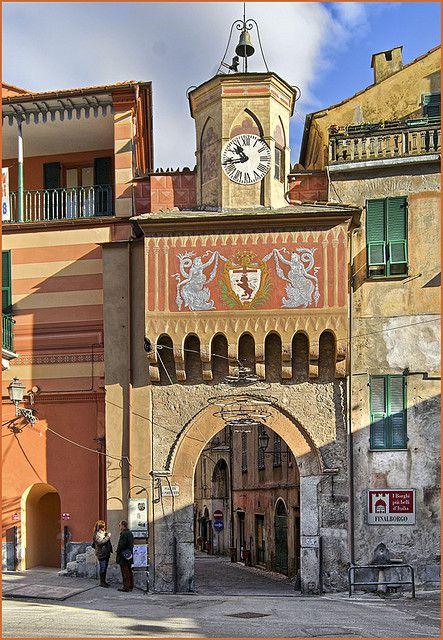 Finale Ligure, Liguria, Italy (Porta Testa)