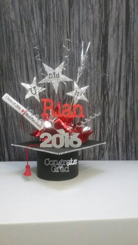 Best graduation centerpiece ideas on pinterest grad