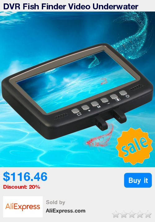 "DVR Fish Finder Video Underwater Fishing Camera 4.3"" Monitor Night Vision 30m Best Seller * Pub Date: 19:01 Apr 11 2017"