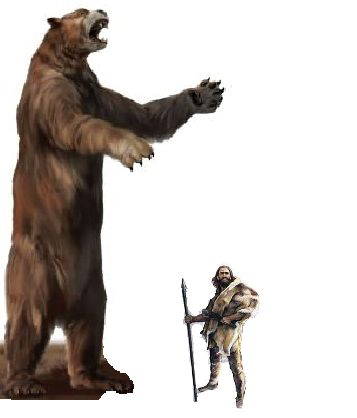 17 ft Short Face Bear Scale