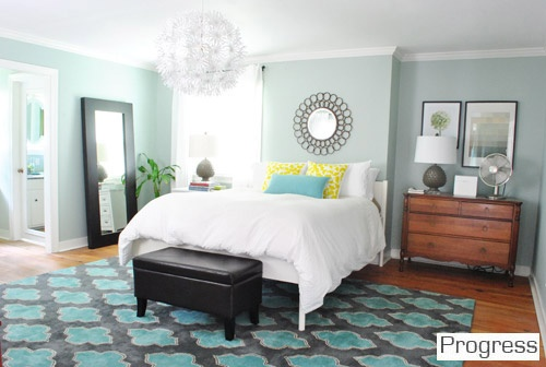 Our Paint Colors | Young House Love.  Valspar's Carolina Inn Club Aqua