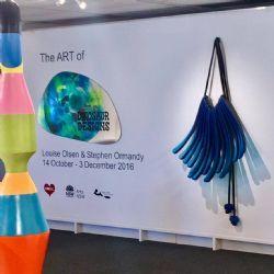 exhibition installation shot: