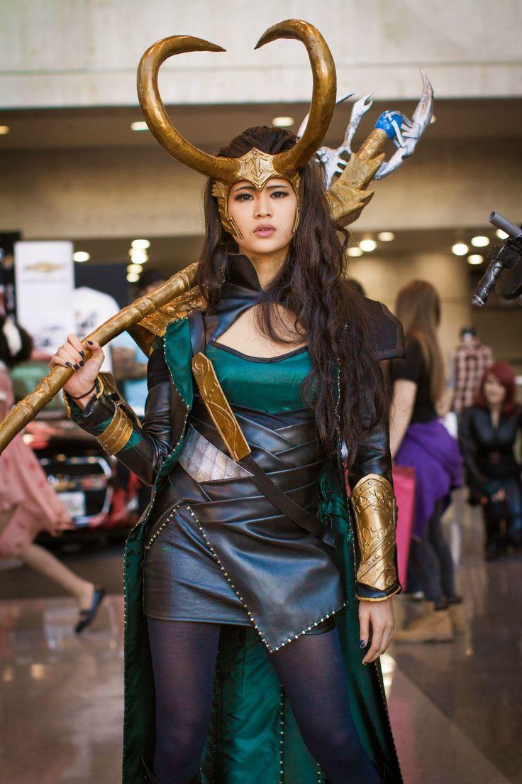 Lady Loki.  By Marcy Lee.