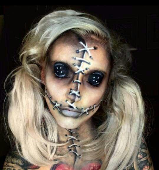 Creepy Doll Makeup | DIY Halloween Costume Ideas for Teen Girls