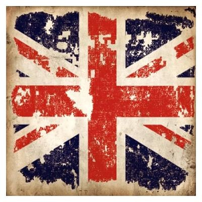 Vintage Union Jack Greetings Card