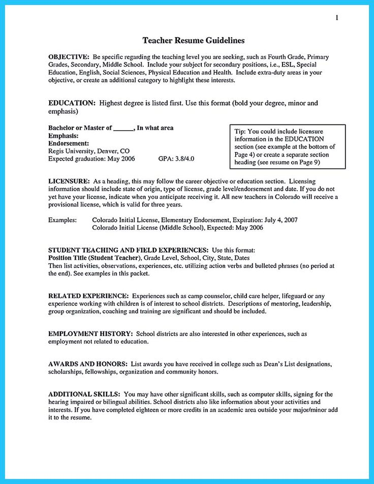 There are several parts of assistant teacher resume to concern - resume for teacher assistant