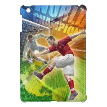 Soccer, football birthday case for the iPad mini