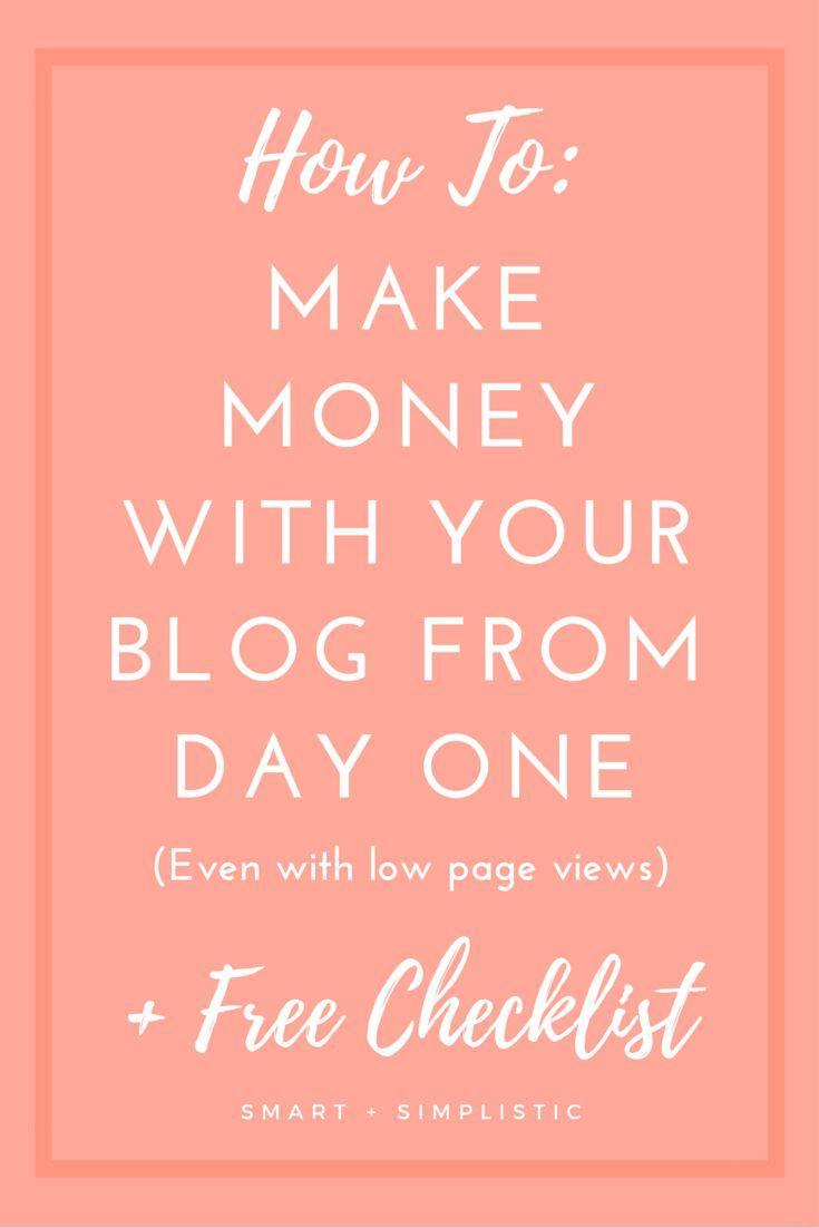 Wie man mit dem Bloggen Geld verdient – #bloggen #dem #Geld #man #mit #verdient