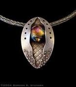 Beautiful pendant by Gordon Uyehara.