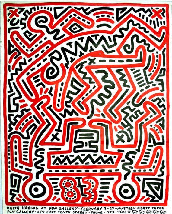 Keith Haring - Ephemera 1979-90 7                                                                                                                                                     More