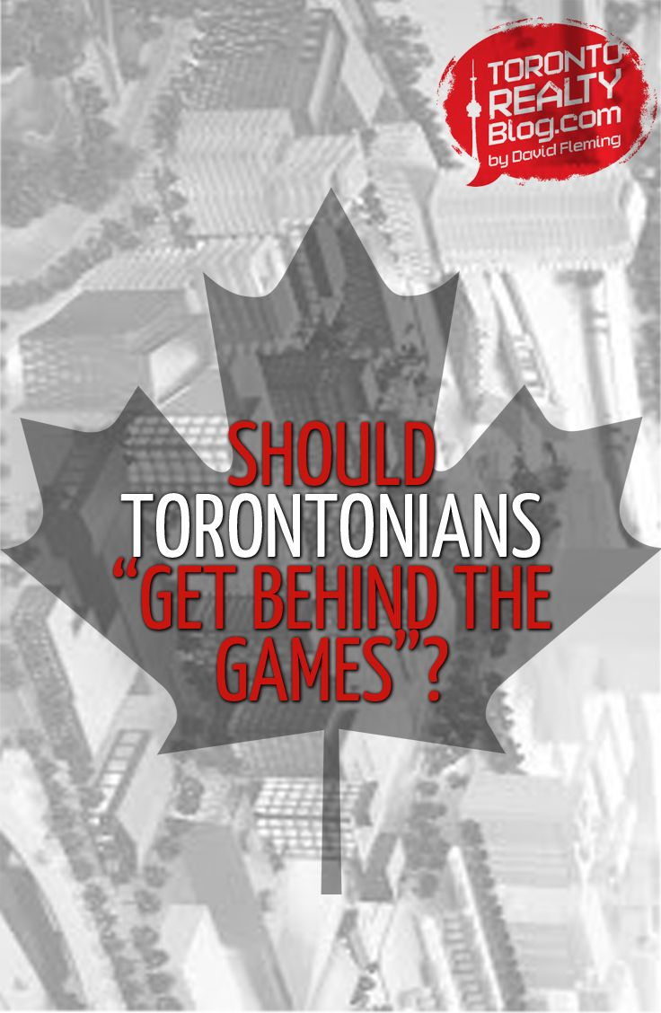 """Should Torontonians """"Get Behind the Games""""?  Last week, mayor-elect, John Tory, gave his """"State of the City Address,"""" and outlined seven key challenges that the city has to face head-on, notably: transit, gridlock, housing, infrastructure, basement flooding, poverty, and fiscal sustainability.  And then in a related interview, he commented on the 2015 Pan-Am Games, and told Torontonians to """"get behind the games."""""""