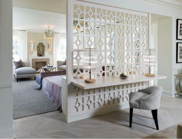 10 id es pour s parer la chambre des autres pi ces moderne house int rieur poudre. Black Bedroom Furniture Sets. Home Design Ideas