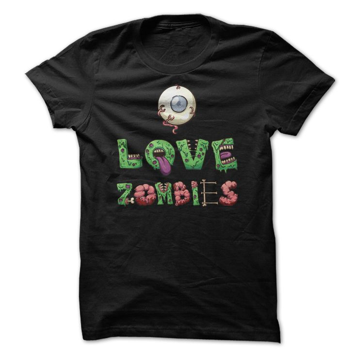 View images & photos of I Love Zombies T Shirt t-shirts & hoodies