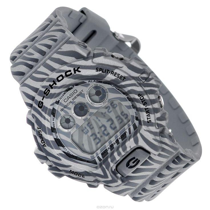 Часы мужские наручные Casio G-Shock, цвет: серый. DW-6900ZB-8E