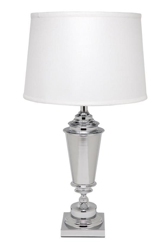 Harbord Table Lamp - Silver - Lighting : CAFE Lighting