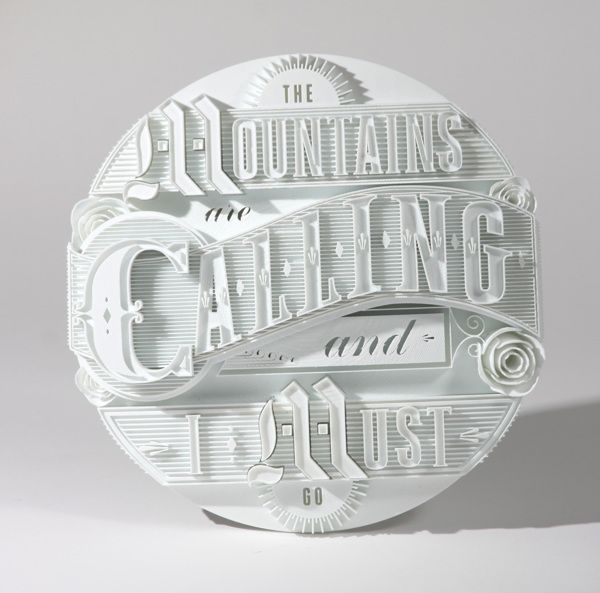 3D-Printed Type Sculptures by Ben Johnston & Mark Simmons | Inspiration Grid | Design Inspiration