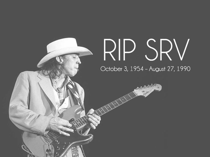 25 years ago today, we lost one of our brightest stars: Stevie Ray Vaughan. Rest in peace, man.