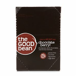 The Good Bean The Fruit & No-NUT Bars, Chocolate Berry!