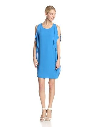 57% OFF Muse Women's Side Drape Sheath (Cobalt)
