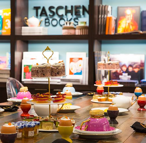 Downtown Dallas Hotels - The Joule  TEA AT TASCHEN