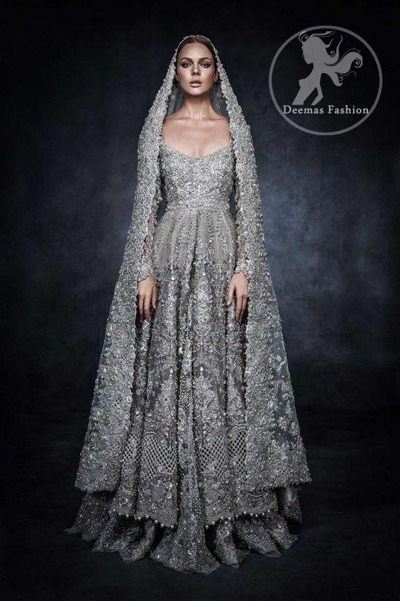35efe3386d8b Indian Pakistani Bridal Anarkali Suits & Gowns Collection 2019-2020 ...