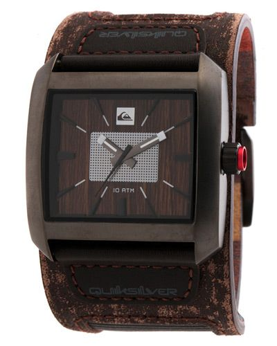 SURF DIVE 'N' SKI | JETTY SURF - MENS - WATCHES - LEATHER WATCHES - THE SEQUENCE WATCH BY QUIKSILVER IN BROWN