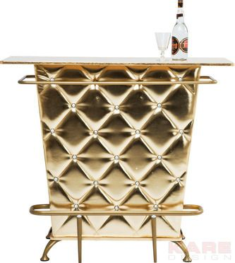 Bar Lady Rock Gold #gold #kare #design #wien #austria #Oesterreich # design #Bar