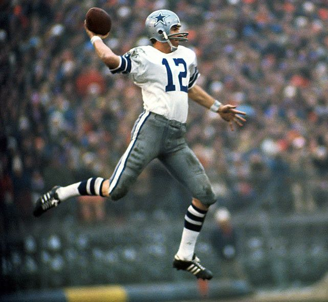 Roger Staubach, Dallas Cowboys  the reason I became a DC fan...and wore #12 as a pee wee qb.