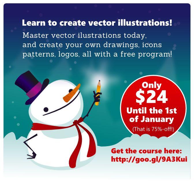 good inkscape illustration course