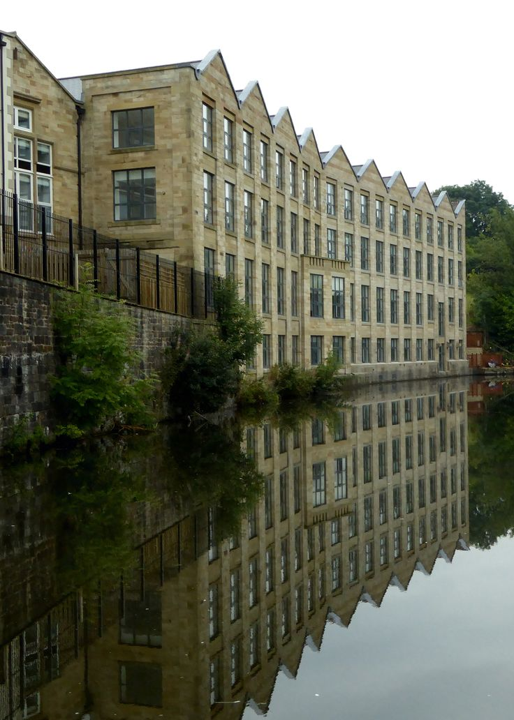 Brierfield. Mill converted to flats