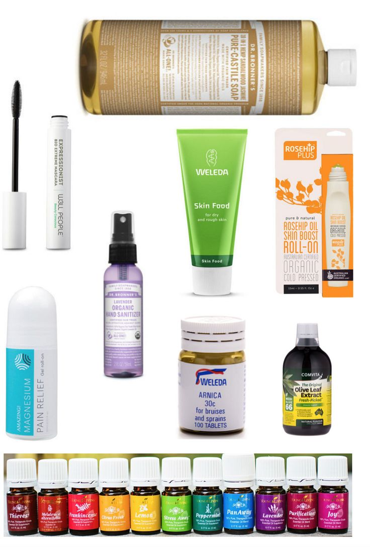 My favourite Low Tox travel products
