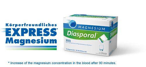 Magnesium Diasporal Oral Powder 20x5.5g sachets. Sold at New Farm Physiotherapy. Ph : 3358 5481. 1/78 Merthyr Road New Farm 4005. admin@newfarmphysiotherapy.com.au www.newfarmphysiotherapy.com.au