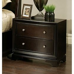 Abbyson Living Kingston 2-drawer Espresso Nightstand | Overstock.com Shopping - Great Deals on Abbyson Living Nightstands