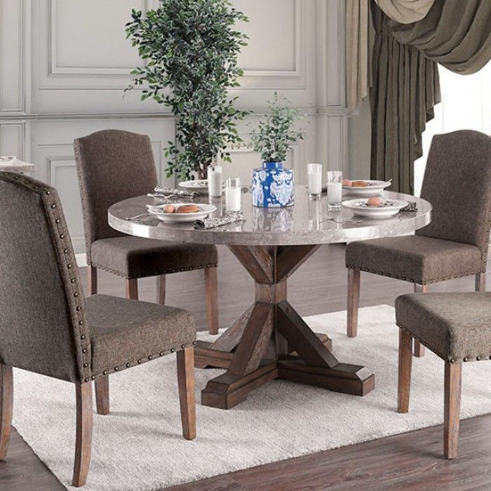 Bridgen 3429rt Round Marble Table To Seat 4 Persons Dining Table Marble Round Marble Table Dining Table