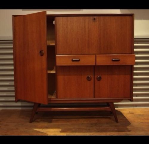 Schrank Dänish Design 50er 60er jahre Louis Van Teeffelen Rockabilly | eBay