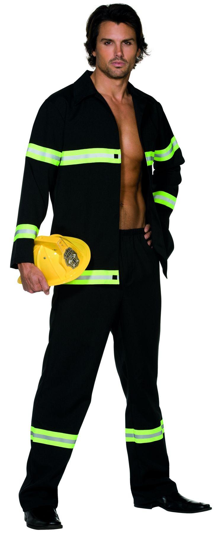 Sexy kostuum brandweerman voor mannen : Vegaoo Volwassenen Kostuums