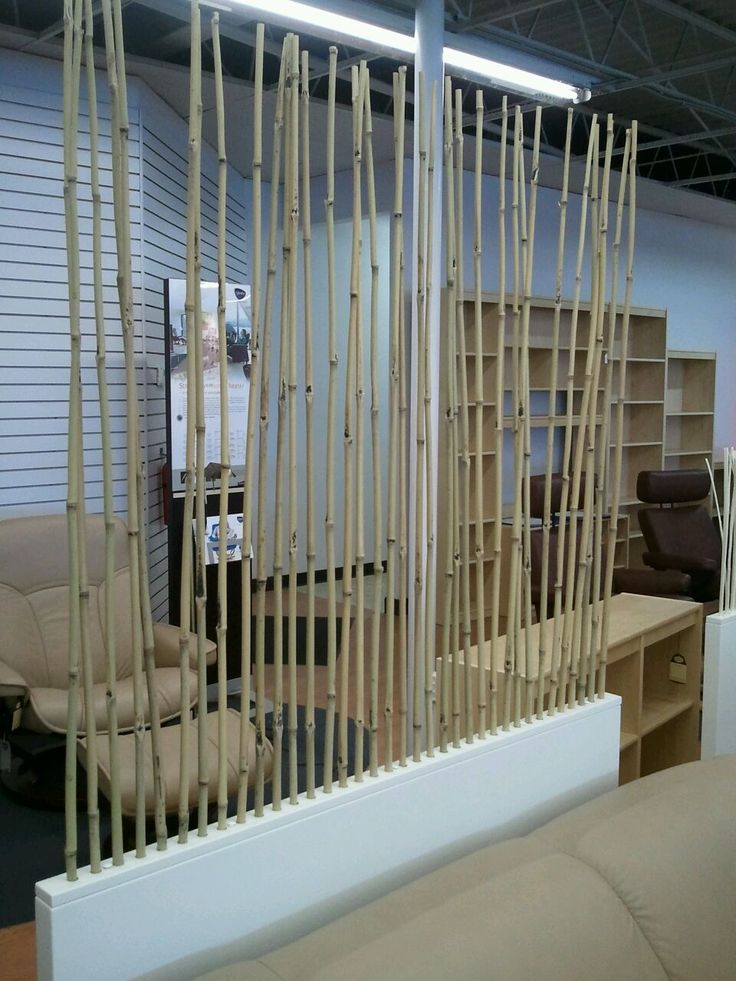 Bamboo Sticks In The Back Corner By The Pool Equipment