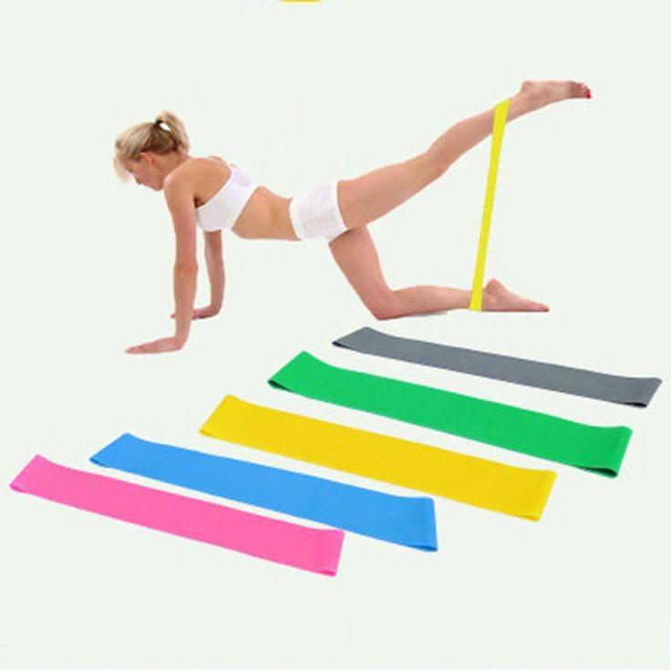 5 PZ in 1 Set Sport Bande di Resistenza Attrezzature Per Il Fitness Allenamento esercizi di Stretching Attrezzature Palestra Accessori