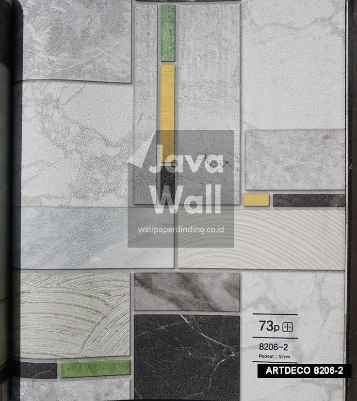 Wallpaper Art deco  CODE 8206-2